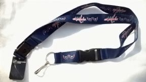 Washington Capitals Lanyard, Navy Blue